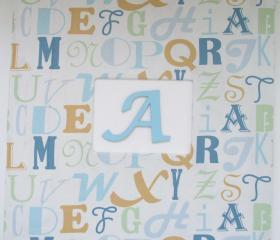 Baby Album/Brag Book - Alphabet Theme Choose Your Colors